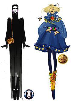 Marvel Avengers Studio Ghibli Runway Fashion Designs   The Mary Sue    If Studio Ghibli had a fashion show, this would be it. <3