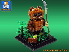 LEGO Star Wars Wicket the Ewok by baronsat, via Flickr