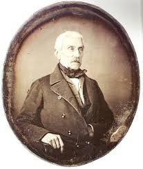 DAGUERROTIPO de José de San Martín (1778- 1850) tomado en París en 1848, dos años antes de su muerte, por un fotógrafo anónimo que pudo haber sido el conde Olympe Aguado, del que San Martín fue tutor.