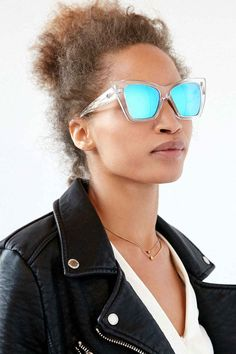 JFC, these blue mirrored lenses are amazing. Get 'em from Urban Outfitters for $60.