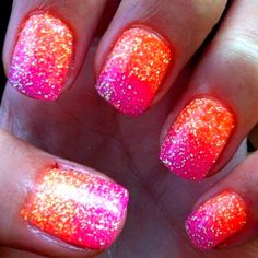 Awesome vacation nails!!