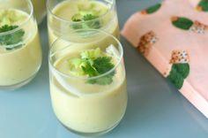 Koude avocado soep van Sophie Dahl