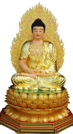 T Buddha Temple, Buddha Art, Buddha Statues, Amitabha Buddha, Gautama Buddha, Buddha Home Decor, Buddha Sculpture, Japanese Artwork, Buddha Painting