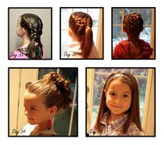 Little Girl Hair - the motherload!  Includes a gallery of hairstyles and link to you tube video tutorials.