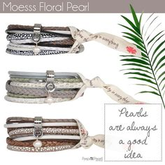 Moesss Floral Pearl, a touch of summer by Pimps&Pearls www.pimpsandpearls.nl