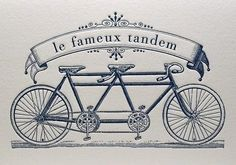 Tandem Trust, Trials and Tribulations: Panic Attacks on the Bike Bicycle Tattoo, Bike Tattoos, Cycling Tattoo, Logo Design, Design Poster, Bicycle Themed Wedding, Velo Cargo, Best Tattoo Ever, Tandem Bicycle