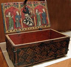 German, Casket with Scenes of Courtly Love, Cloisters