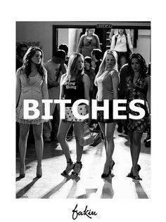 Hola #Viernes #bitches #MeanGirls #ChicasMalas #Chicas #Bad #NoRules #friday     https://www.facebook.com/pages/FAKIU-CLOTHES/130489757033235?sk=timeline