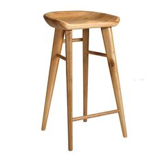 Taburet Bar Stool (Oak) - FURNITURE
