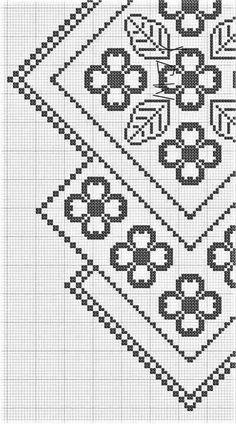 Best 11 My home remodeling and design solutions (Pattern) – Crochet Filet – SkillOfKing. Crochet For Boys, Crochet Round, Crochet Motif, Crochet Doilies, Crochet Table Runner Pattern, Crochet Tablecloth, Craft Patterns, Sewing Patterns, Crochet Patterns