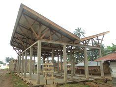 Pergola Attached To Roof Rustic Pergola, Diy Pergola, Pergola Ideas, Wooden Pergola, Roof Ideas, Pergola Plans, Pergola Kits, Timber Roof, Roof Trusses