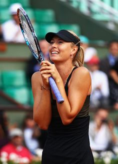 June 7, winnning at French Open semi. Maria Shrapova.
