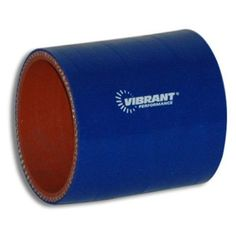 Vibrant 2714B 4 Ply Reinforced Silicone Sleeve Connector, Blue, As Shown