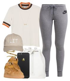 """""""What If // Geazy"""" by luhariiee ❤ liked on Polyvore featuring Monki, NIKE, The Row, Jeweliq and Roberto Coin"""