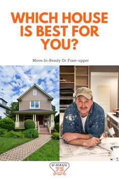 Busy house hunting for the perfect house? If you're caught between picking a move-in ready home and a fixer-upper then try out these helpful tips to help guide you towards your perfect option! Organizing Your Home, House Rooms, Organization Hacks, Fixer Upper, Helpful Tips, Household Items, Hunting, Useful Tips, Home Goods