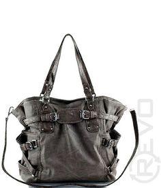 two toned handbag in gray ($49.50)