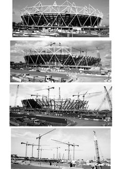 Building the Olympic Stadium - Niki Gorick Prints - Easyart.com