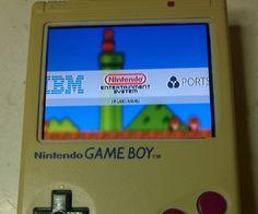 PiBoy in a GameBoy case!
