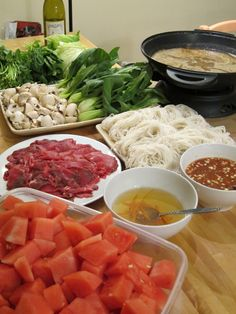 home-made shabu-shabu ^_^