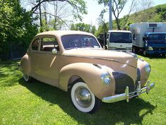 1941 Lincoln Zephyr..Re-pin brought to you by agents of #Carinsurance at #HouseofInsurance in Eugene, Oregon