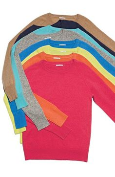 Chinti and Parker Star-intarsia cashmere sweater ($273) ❤ liked ...