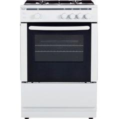 Bush AG66SW Gáztűzhely Freestanding Cooker, Gas Stove, Home And Garden, Kitchen Appliances, Cooking, Gadgets, Delivery, Diy Kitchen Appliances, Kitchen