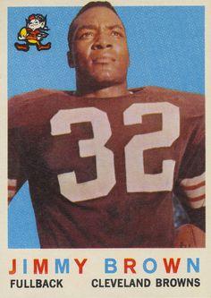 Jim Brown sports card