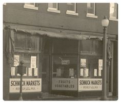 The earliest Schnuck Markets Tombstone Epitaphs, Missouri Town, Granite City, Gateway Arch, Drive In Theater, St Louis Mo, My Kind Of Town, American History, Nostalgia