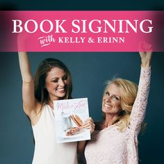 Kelly and Erinn are having a book signing on Fri. Nov. 25th from 7-8pm at the shoppe! Bring your copy of Made With Love to be personalized, or purchase a copy! Perfect for the holidays. #kellystribe