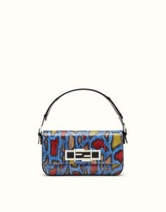 FENDI | 3BAGUETTE shoulder bag in multi-coloured Ayers