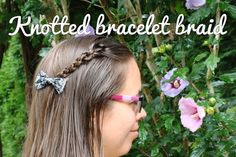 Learn how to do this Knotted bracelet braid yourself! Also subscribe to my channel!