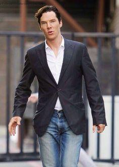Always repin Benedict in jeans.