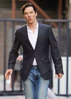 Always repin Benedict in jeans.