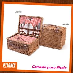 Canasta para Picnic - 4 personas. @pylonesco #pylonesco