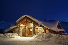 Chalet à Val Thorens, Savoie #vacances #montagne #ski