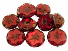 Happy Mango Beads - Czech Glass Beads 15mm (CZ796), $10.00 (http://happymangobeads.com/czech-glass-beads-15mm-cz796/)