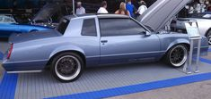 Modernized by GM Chevrolet's Performance Works :'80's G Bodied Monte Carlo SS with modern 'vette supercharged Motor and all updated suspension and mechanicals