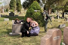 https://flic.kr/p/bUTWJg   Cheese   Bride and Groom w/ zombies in cemetary