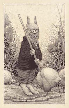El Hurgador [Arte en la Red]: Edward Binkley [Ilustración]