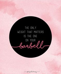 BARBELL-30 Fitness Motivational Posters - Inspiring Fitness Quotes To Give You Motivation To Workout - Fit Girl's Diary