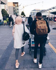 *t r a v e l d i a r y* wonder woman perfume jean paul gaultier - Woman Jeans Cute Muslim Couples, Muslim Girls, Cute Couples Goals, Muslim Women, Hijab Mode Inspiration, Perfume Jean Paul, Hijab Look, Modern Hijab, Beautiful Hijab
