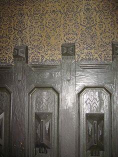 HM paneling wallpaper detail | Flickr