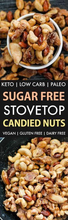 Sugar Free Caramelised Nuts