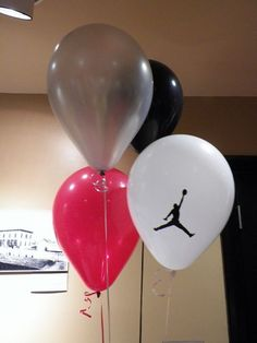 Michael Jordan Party Theme | Michael Jordan Jumpman / Baby Shower/Sip & See / Decorations: