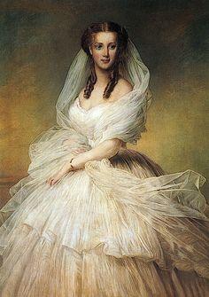 Alexandra, Princess of Wales by Richard Lauchert, 1863,not by W.C.Wontner