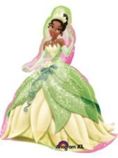 Foil Tiana Balloon 35in - Princess and the Frog $10 BOGO