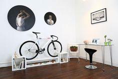 Stijlvolle fietsenrekken voor in huis - fiets, fietsenrek, racefiets - Wonen Voor Mannen