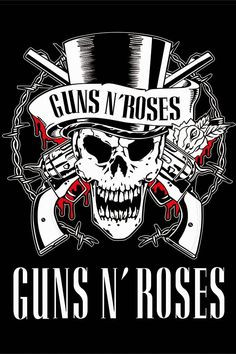 Poster Rock Bandas Guns Roses Guns And Roses