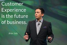Non tutti sono consapevoli che l'esperienza dei clienti è già diventata - e lo sarà sempre di più in futuro - la linea di separazione tra le aziende di successo e le altre. Per questo viene indicata da Brian Solis, come il futuro del business: perché rappresenta un'opportunità di crescita da non per