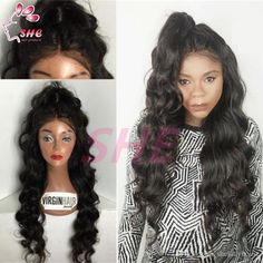 Lace Front Wigs 100% Unprocessed Full Lace Wigs In Stock Cheap Grade 7A Brazilian Virgin Human Hair Wigs Online with $100.56/Piece on Sheladyhouse's Store | DHgate.com